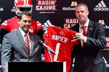Napier has the Ragin' Cajuns Headed in the right direction